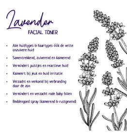 Facial Toner - Lavender