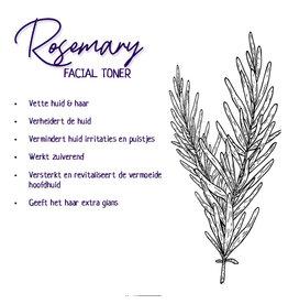 Facial Toner - Rosemary