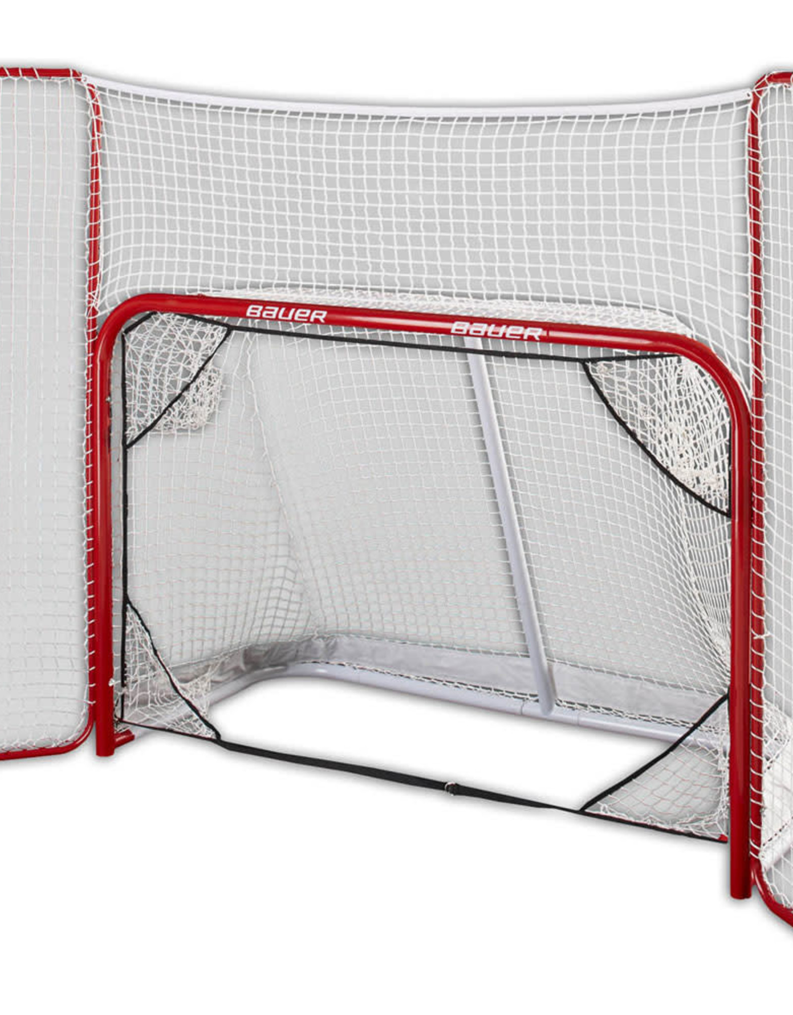 Bauer STEEL GOAL WITH BACKSTOP