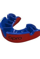 OPRO MOUTH SELF FIT SILV. SR. RED/BLUE