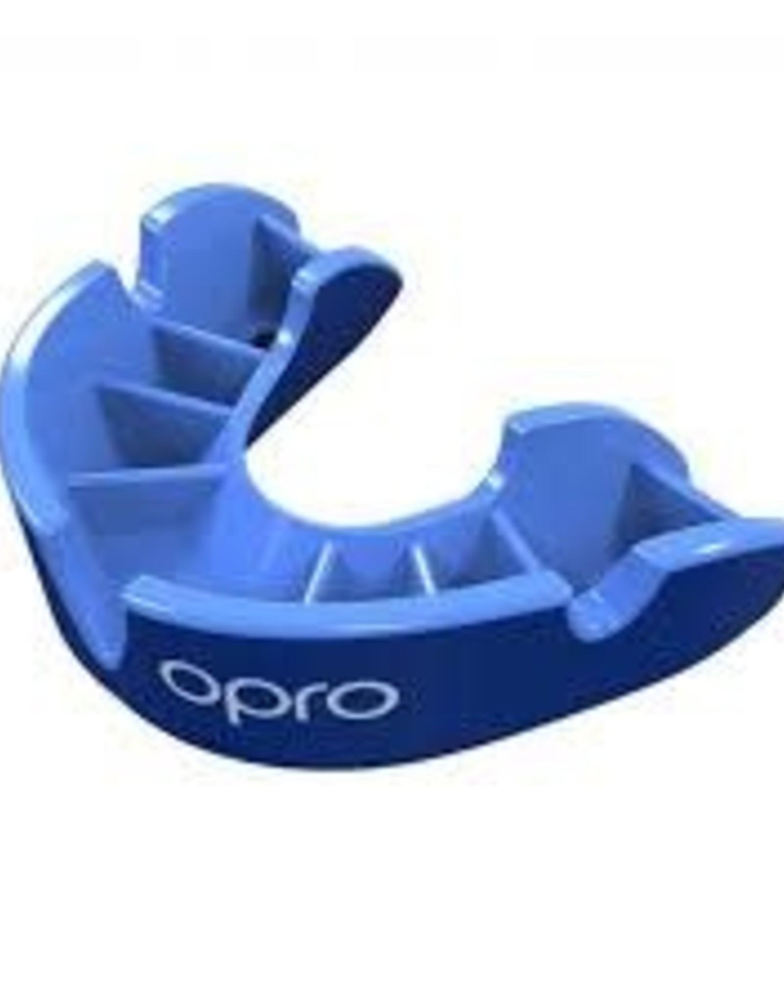 OPRO SELF FIT SILVER JR. BLUE/LIGHT