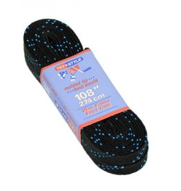 Tex Style Laces Wax Black MT