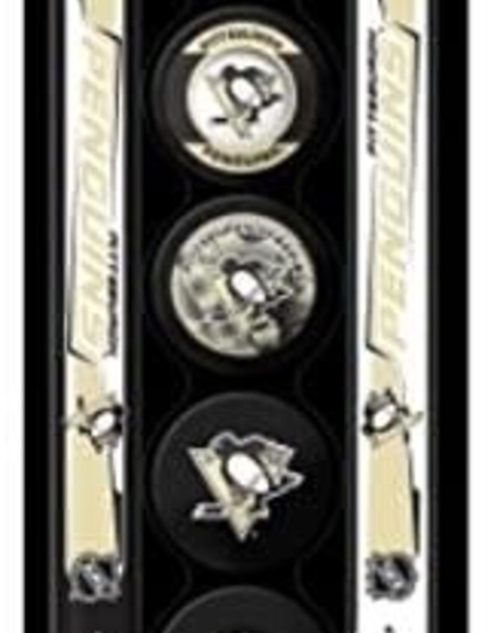 NHL Mini Stick Set With Foam Puck PIT