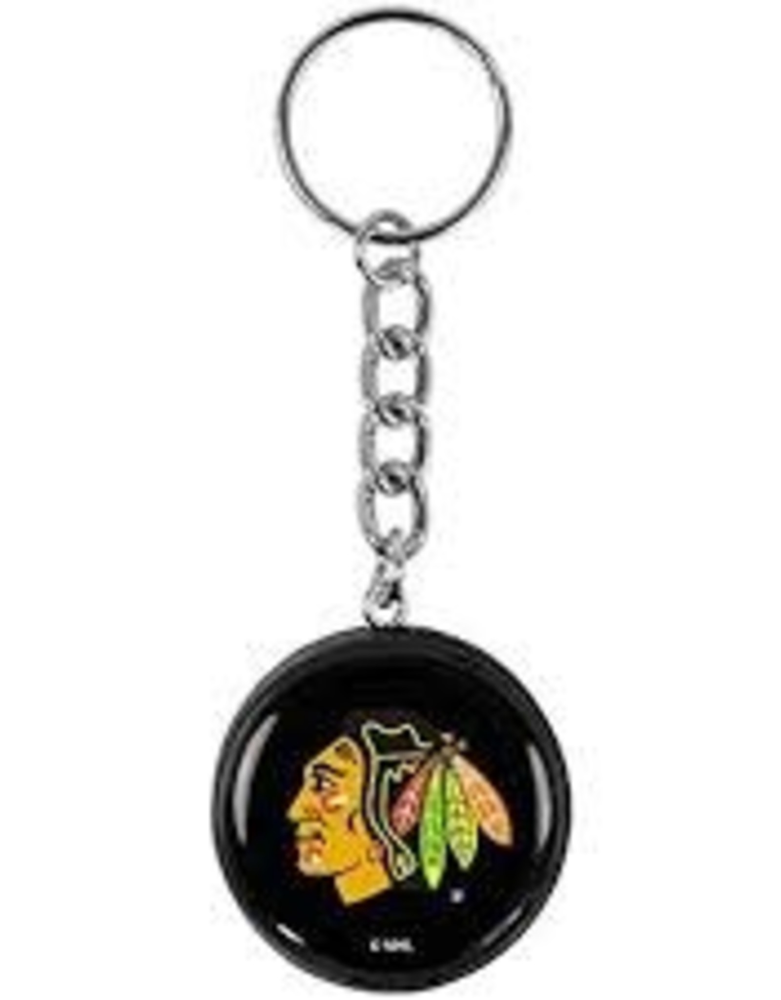 NHL Key Chain Puck CHIC