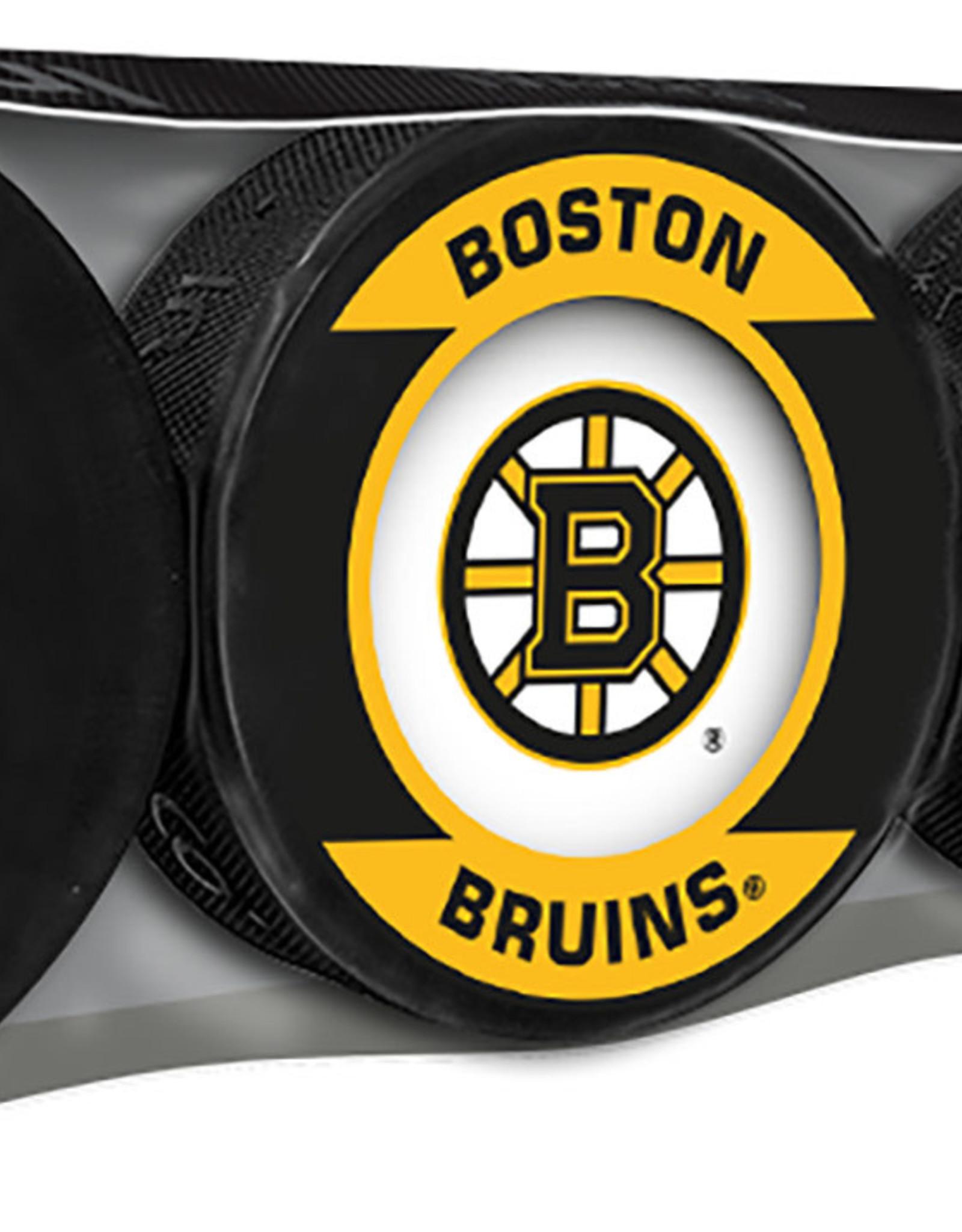 NHL 4 Puck Souvenir Collection Pack BOSTON