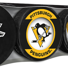 NHL 4 Puck Souvenir Collection Pack PIT