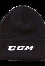 CCM Team Knit Beanie Blk OSFA