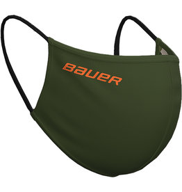 Bauer Reversible Distance Protection Facemask Green/Camo