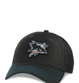Fan  Adjustable Cap San Jose Sharks Black