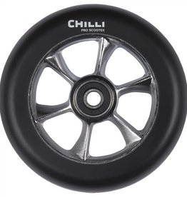 Chilli Chilli Step Wheel Turbo 110MM Black PU/Raw Core