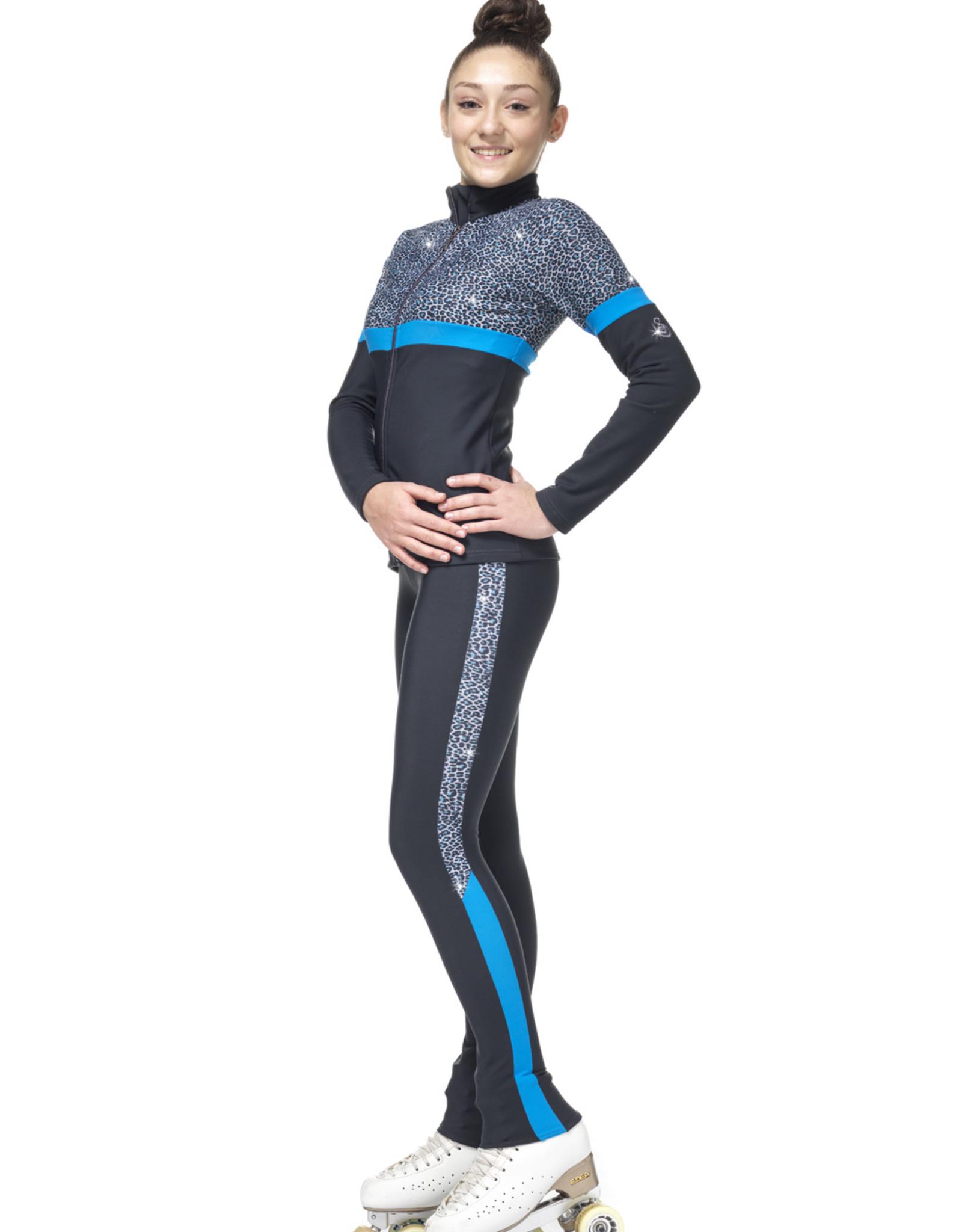 Sagester Pants 467 Leopard BLUE