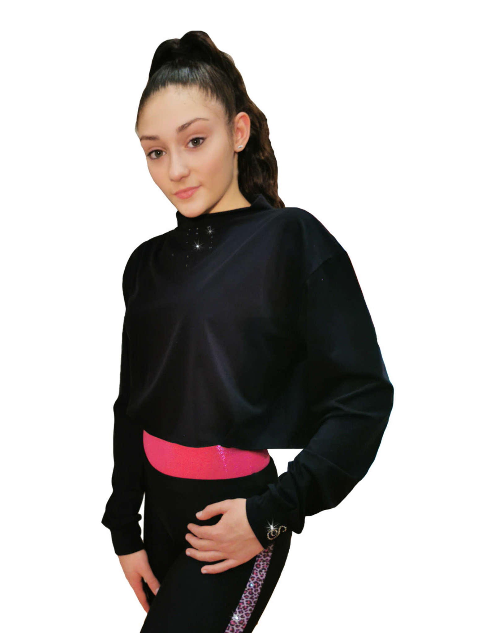 Sagester Top  075 Cropped Microfibre