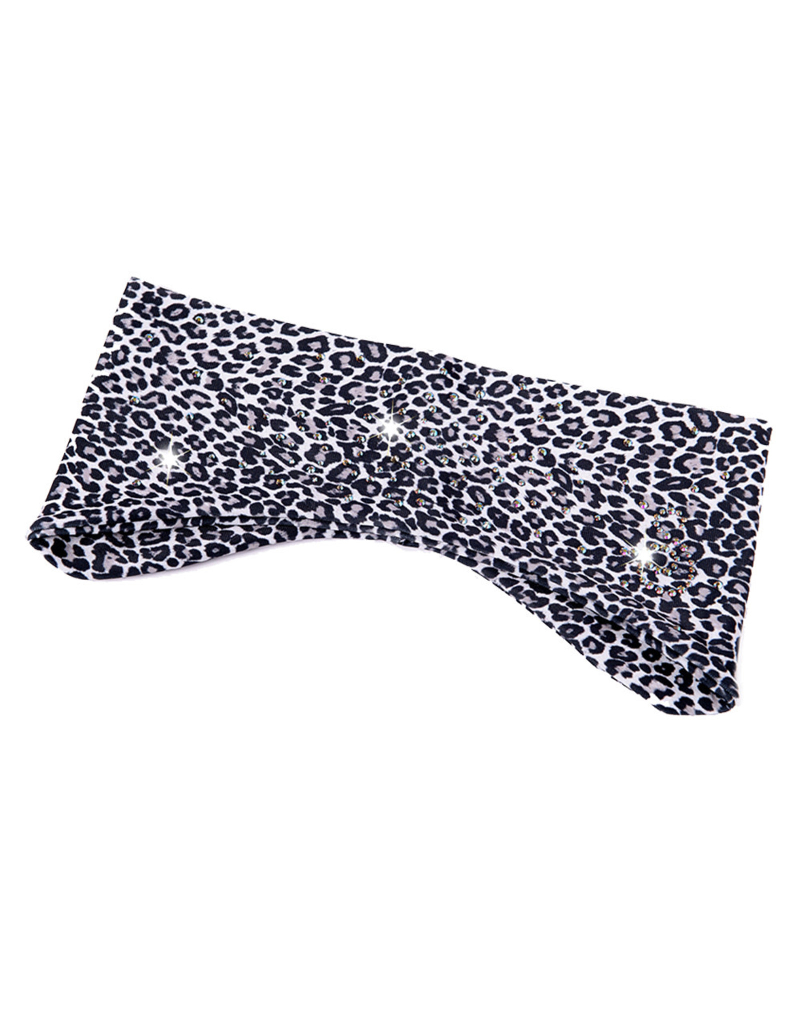 Sagester Headband Leopard Motif Grey