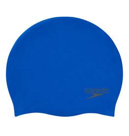 Speedo Silicone Badmuts 3D vorm Blauw