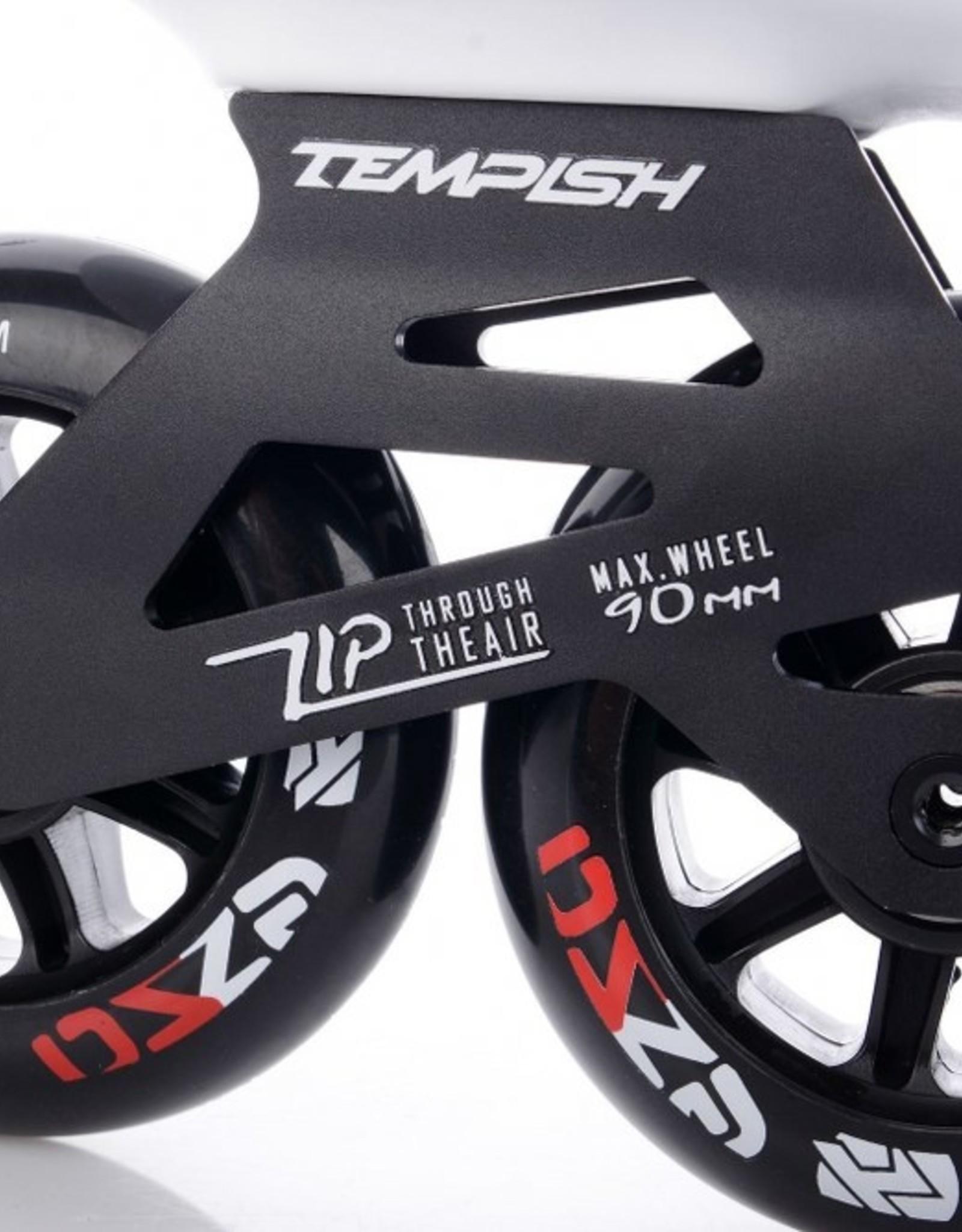 Tempish EZZA INLINE SKATE 90MM Black/Red UNISEX