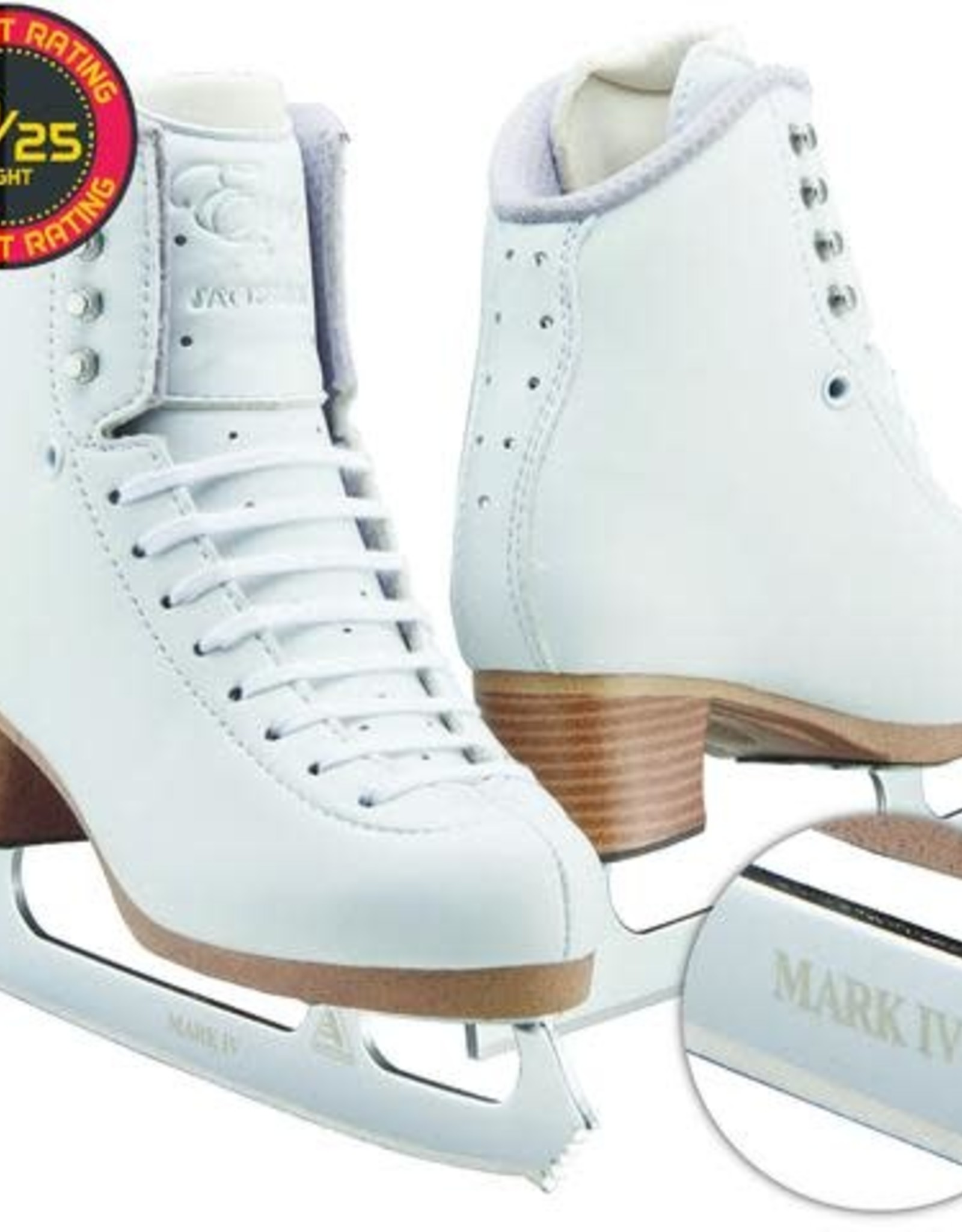 Jackson Evo Fusion Kunstschaatsen + MarkIV Blade W