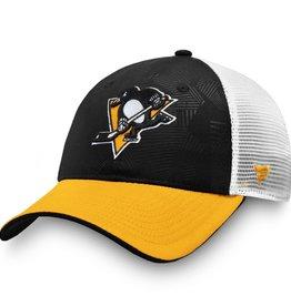 Trucker Adjustable Cap Pittsburgh Penguins BLK/YEL