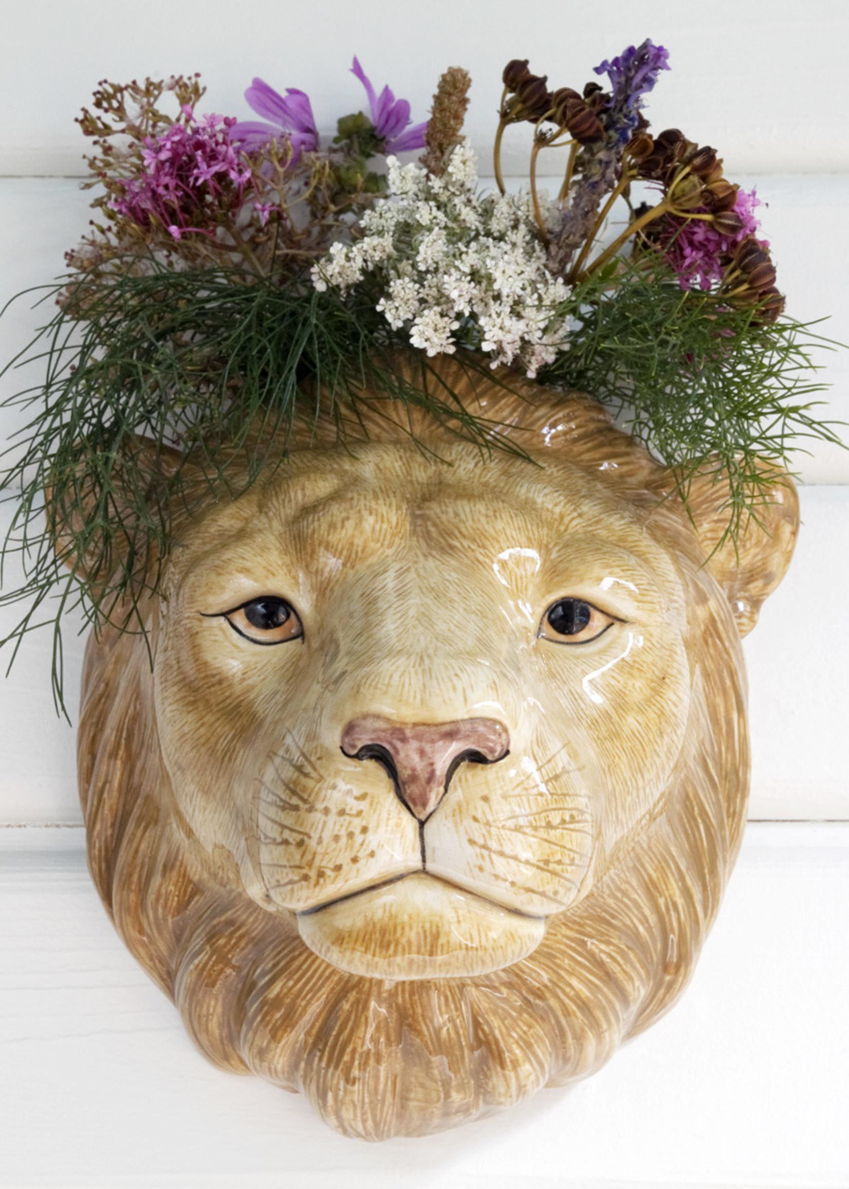 Quail Wandvaas LEEUW lion