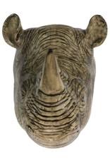 Quail Wandvaas NEUSHOORN rhino