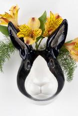 Quail Wandvaas KONIJN dutch rabbit Small