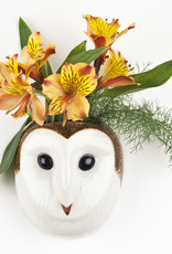 Quail Wandvaas UIL WIT barn owl S