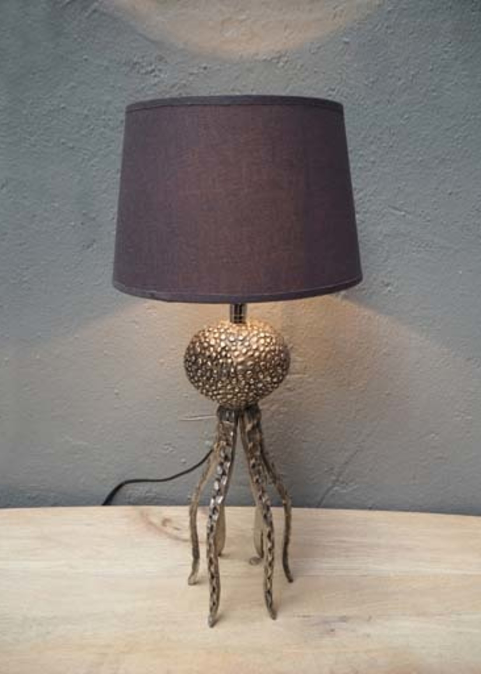 Chehoma Tafel lamp incl. kap OCTOPUS 56 cm hoog