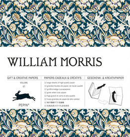 Pepin Press Boek met cadeaupapier WILLIAM MORRIS