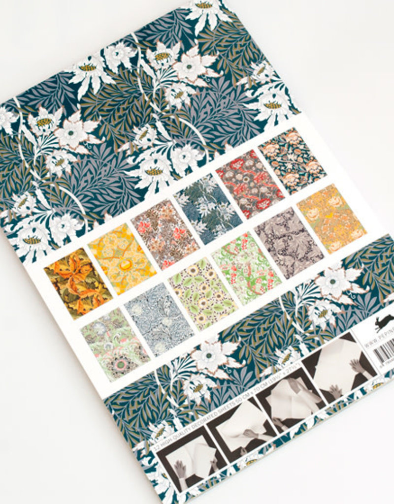 Pepin Press Boek met cadeaupapier WILLIAM MORRIS