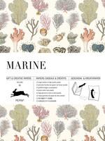 Pepin Press Boek met cadeaupapier MARINE
