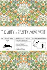 Pepin Press Boek met cadeaupapier ARTS AND CRAFT MOVEMENT