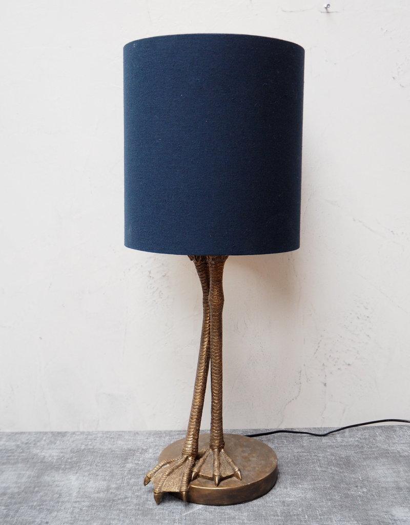 Chehoma Tafel lamp incl. kap VOGELPOTEN 70 cm hoog
