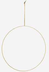 Madam Stoltz Ring of Krans GOUD XXL 60 cm