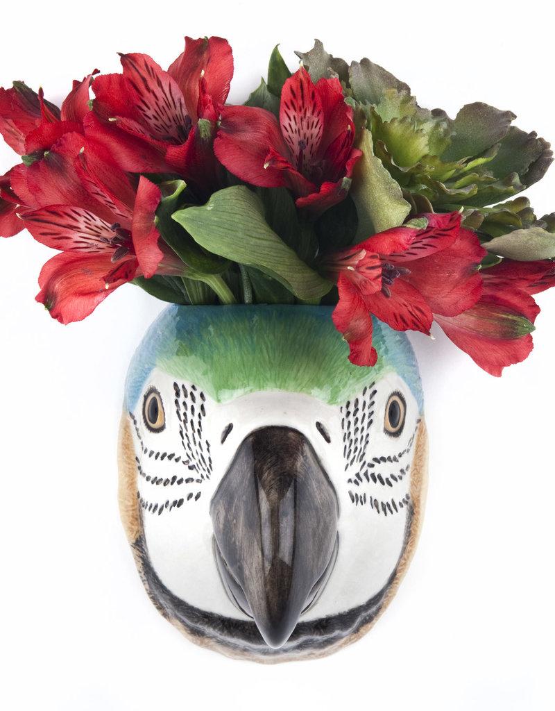 Quail Wandvaas PAPEGAAI macaw Small