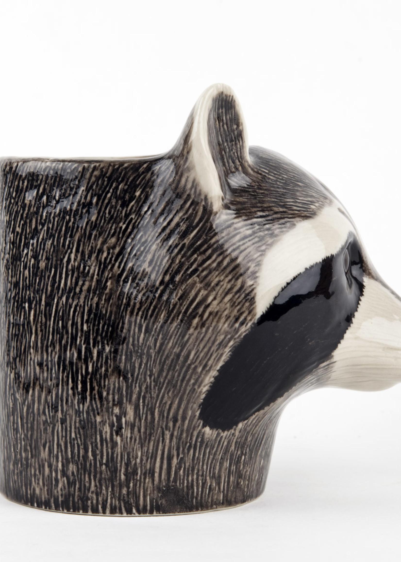 Quail Potje WASBEER raccoon