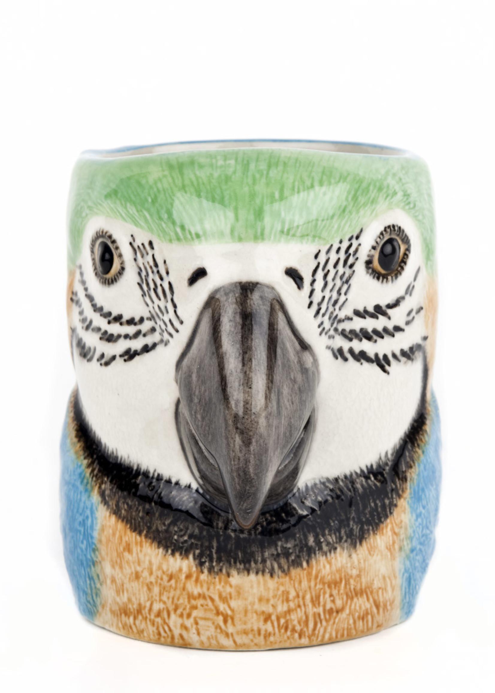 Quail Potje PAPEGAAI macaw