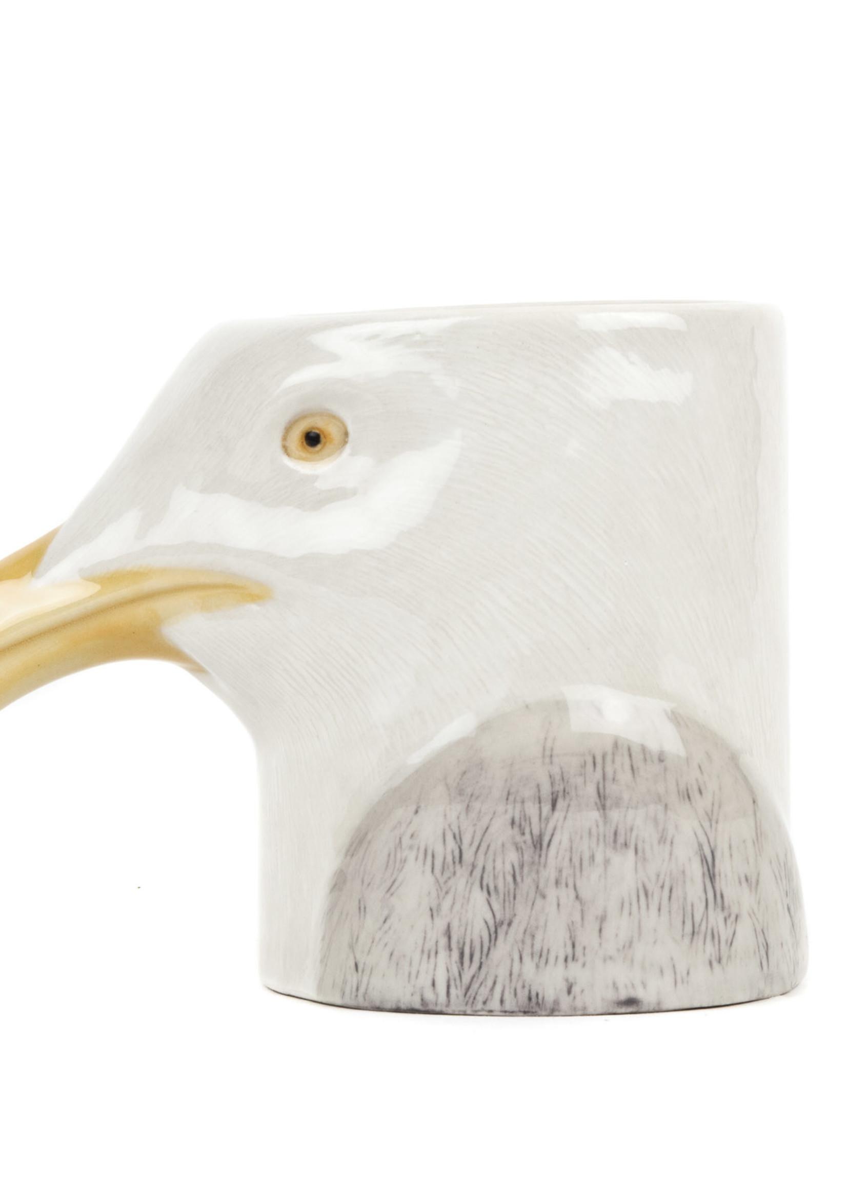 Quail Potje MEEUW herring gull