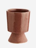 Madam Stoltz plant pot op voetje ROZE small