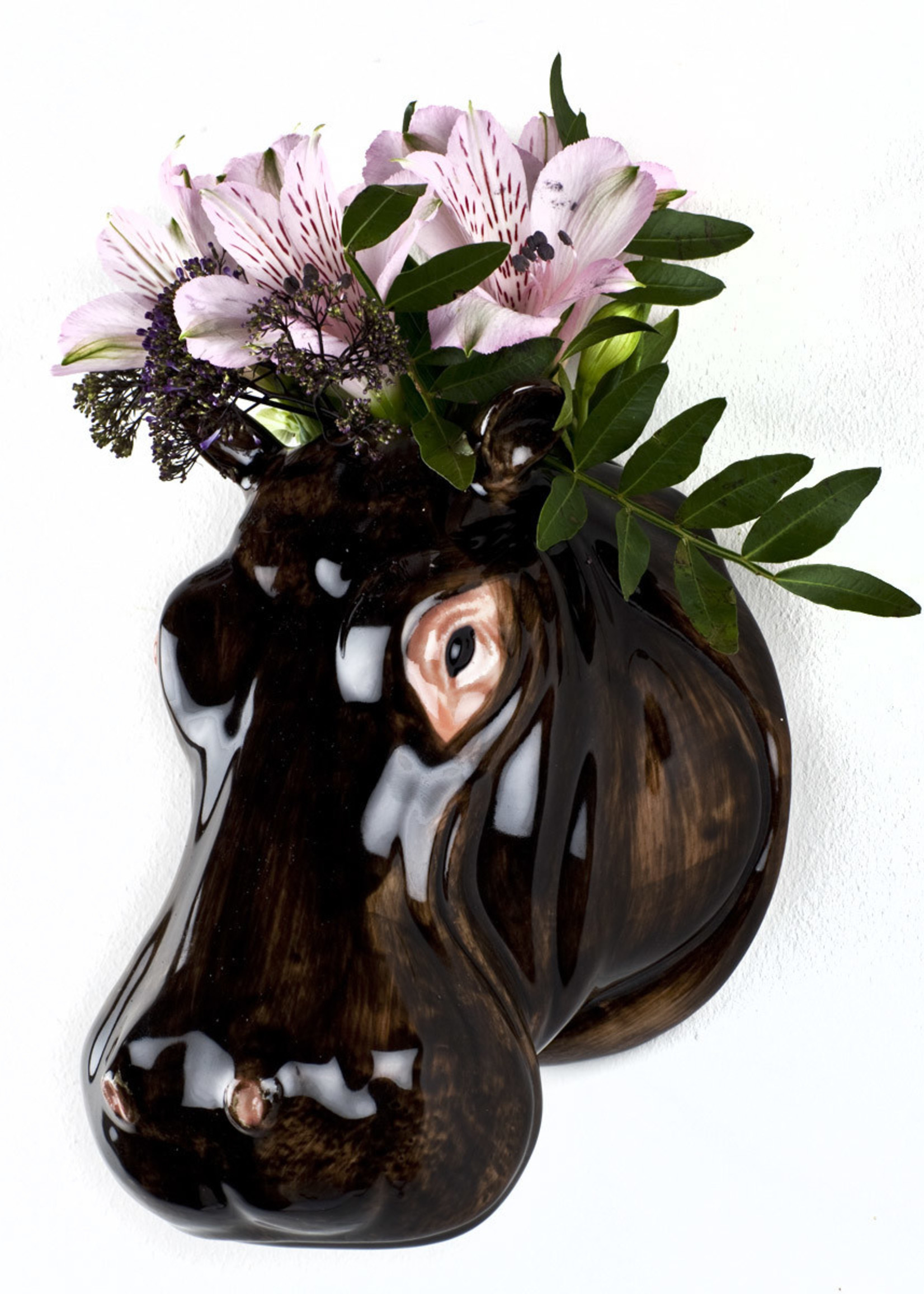 Quail Wandvaas NIJLPAARD hippo
