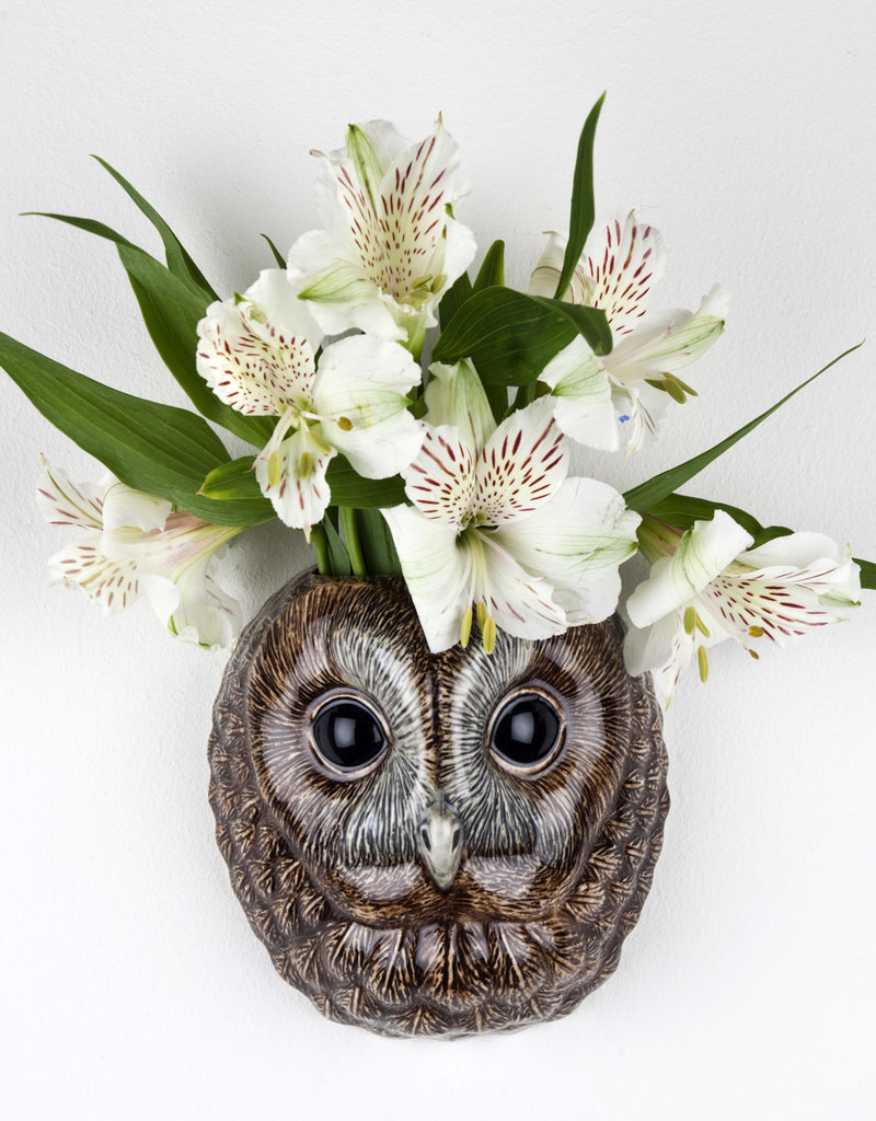 Quail Wandvaas BOSUIL tawny owl S