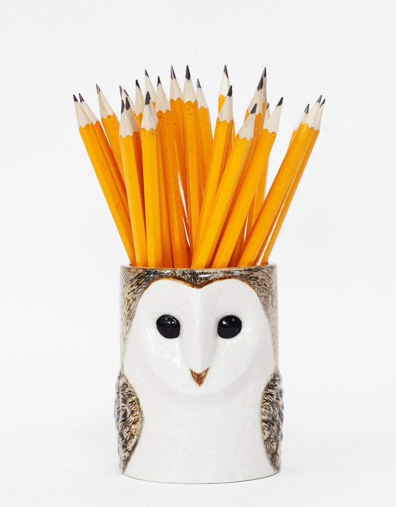 Quail Potje UIL WIT barn owl