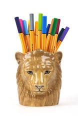 Quail Potje LEEUW lion