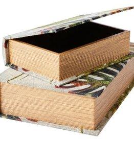 Affari Boek met opberg ruimte MONSTERA large