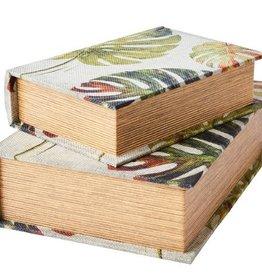 Affari Boek met opberg ruimte MONSTERA small