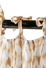 Affari Gordijnen Tie dye GEEL 100x250cm