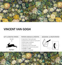 Pepin Press Boek met cadeaupapier VINCENT VAN GOGH