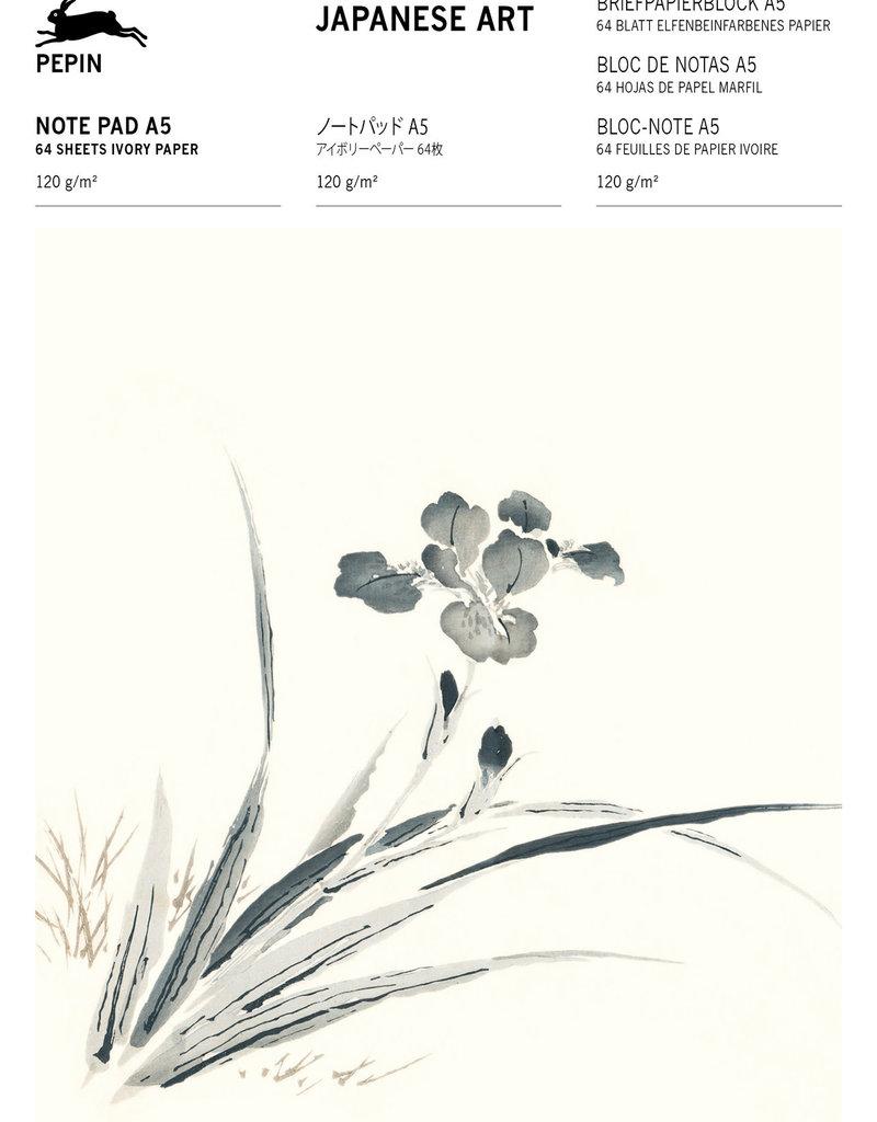 Pepin Press Briefpapier blok A5 JAPANESE ART