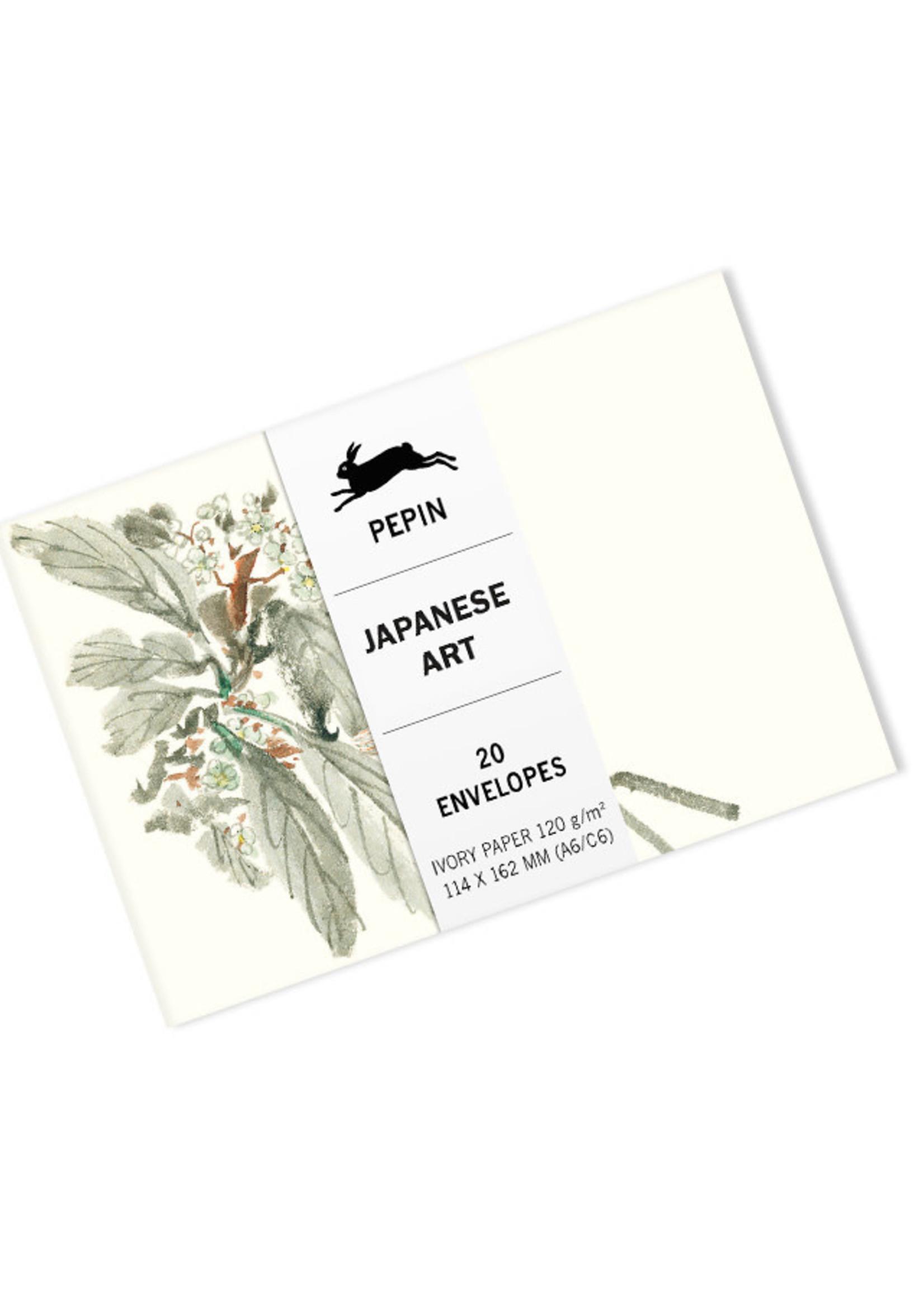 Pepin Press Enveloppen set van 20 stuks JAPANESE ART