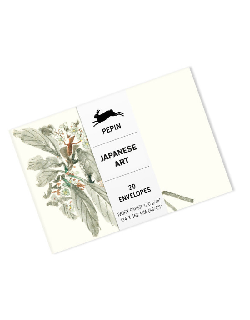 Pepin Press Enveloppen set van 20 stuks JAPANESE ART