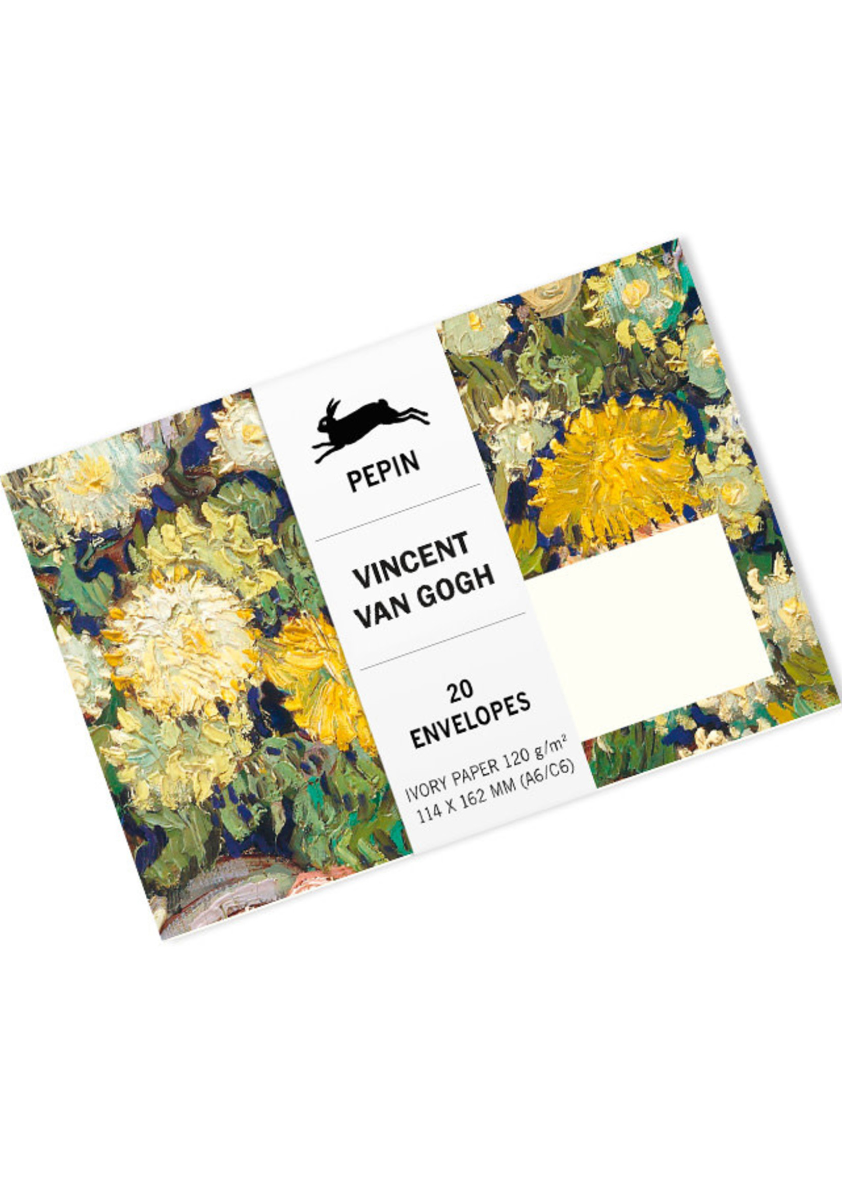 Pepin Press Enveloppen set van 20 stuks VINCENT VAN GOGH
