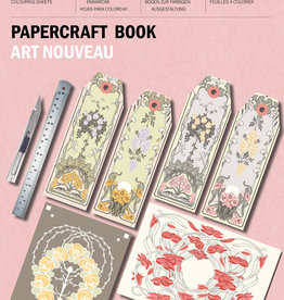 Pepin Press Papercraft Boek ART NOUVEAU